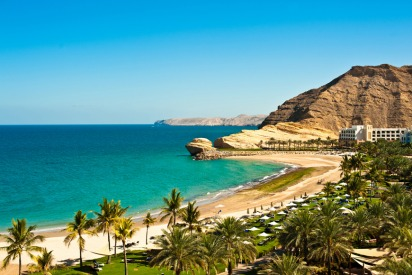 Beaches in Oman