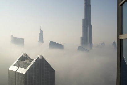In Pictures: Dubai's Week of Foggy Mornings