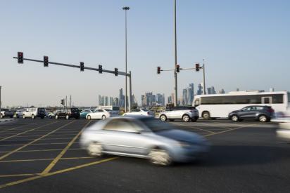 Major Al Kharaitiyat Interchange Opens in Doha