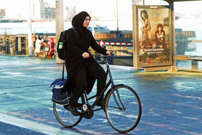 Female Cyclists Are Becoming A Trend In Saudi Arabia