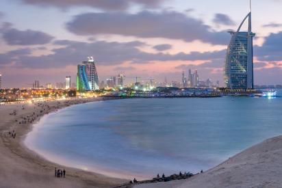 Where to Go For a Night-Time Swim in Dubai