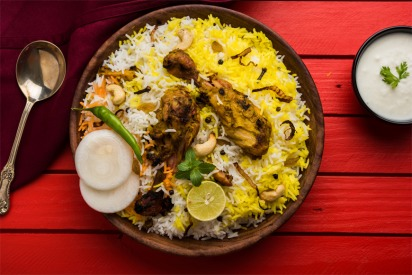 Plate Of Biryani