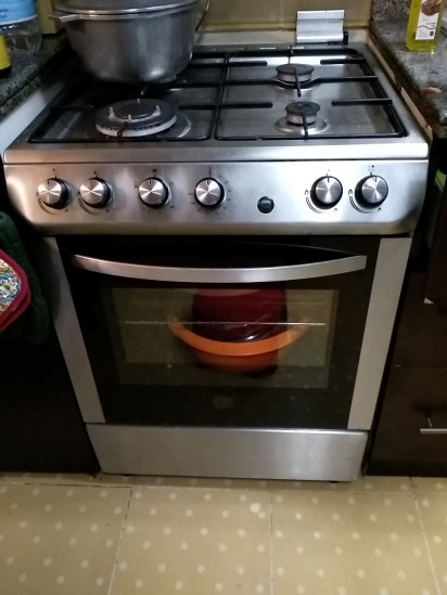 Gas cooker, microwave, tea kettle, etc items for sale