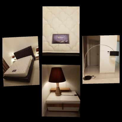 Bedroom furniture with tv