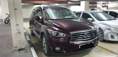 Inifinity QX 60, Company CEO pvt car well maintained
