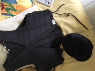 Horse Riding Helmet and Horse riding body protector