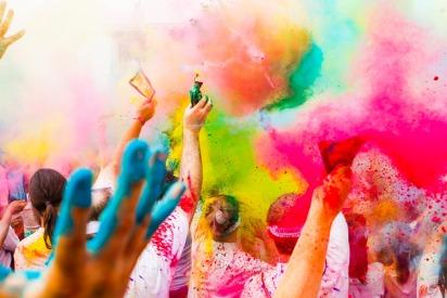 The Color Run 2018 in Dubai