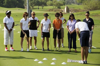 Photo Gallery from the ExpatWoman and Emirates Golf Club Morning 2014