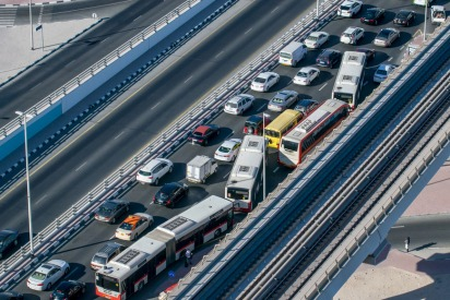 "Dubai Motorists Urged For A ""Day Without Accidents"" As School Reopens"