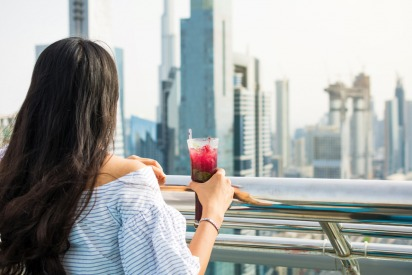 Drinking alcohol in Dubai as a tourist