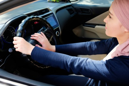 Control device to be installed in young UAE driver cars