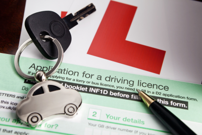 Driving license renewal