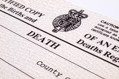 Death Certificate and Licence