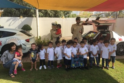 Dubai Police Were at a Nursery and It Was Adorable!