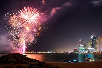 Eid Al Adha 2018 Fireworks in UAE