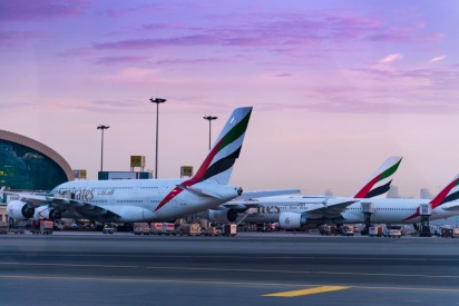Emirates flights affected by runway closure
