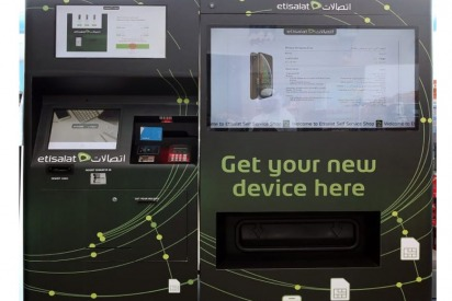 Etisalat First To Launch Smartphone Vending Machine in UAE