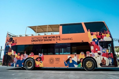 Good News, Expo 2020 Is Giving Free Bus Tours For UAE Residents