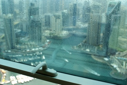 It's Raining in Dubai and Residents Are Happy About It