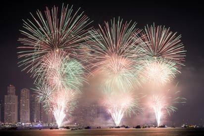 UAE National Day 2018 fireworks in Dubai