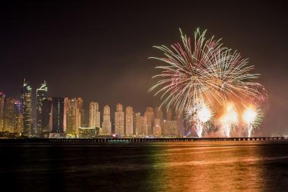 Eid Al Adha firework displays in UAE