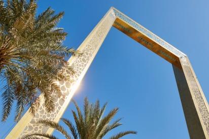 Dubai Frame Breaks World Record