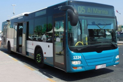 Buses With Free WiFi Launched in Abu Dhabi