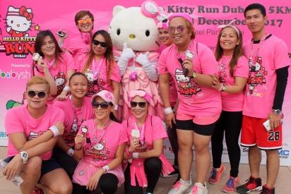Hello Kitty Run in Dubai December 2018