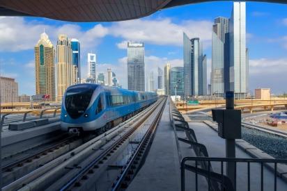 The Dubai Metro turns 9