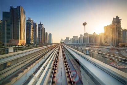 The Dubai Metro