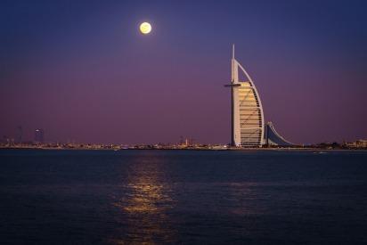 Super blood wolf moon in UAE January 2019