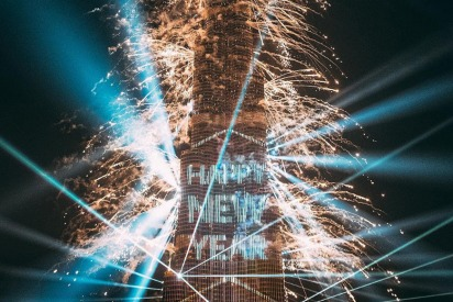 New Year's Eve Fireworks in UAE 2018/2019