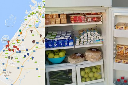 Ramadan 2018: Ramadan Fridges in Dubai
