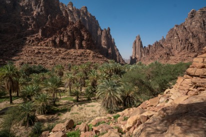 Why You Should Visit the Majestic Tabuk Mountains in Saudi Arabia