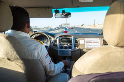Dubai taxis to be installed with street monitoring cameras