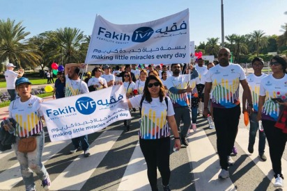 Fakih IVF at Walk for Education 2019