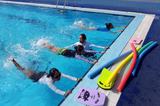 Professional Swimming Lessons For All Ages at Ice Land Waterpark