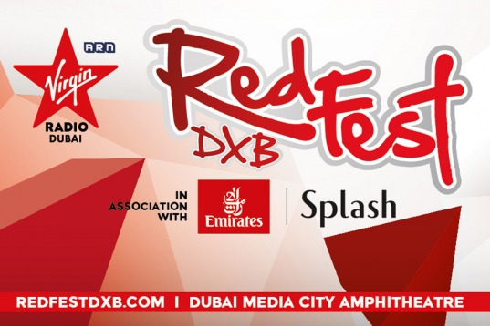 Friday tickets at RedFestDXB 2020