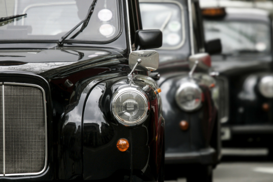 London's Black Cabs Are Coming to Dubai