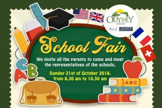 Odyssey Nursery Invites Parents to a Fun School Fair
