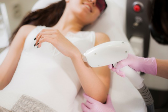 Laser hair removal for ingrown hairs