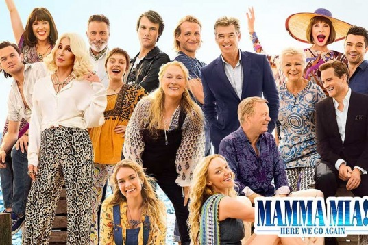 Singing in the Theatre: Mamma Mia Here We Go Again Review