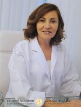 Dr. Suzanne Haddad Hanna at Dr. Kamil Al Rustom Skin & Laser Centre