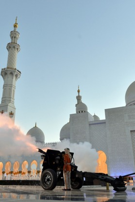 Ramadan cannons in Dubai and UAE