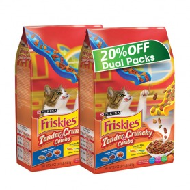 Purina Friskies Tender and Crunchy dry cat food