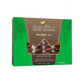 Date Crown box of dates with almonds