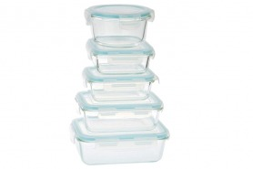 Glass Container Set