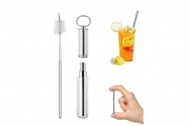 Volwco Collapsible Straws Reusable