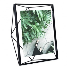 Umbra Prisma 8 x 10 Picture Frame - Floating Wall or Desk Photo Display for Pictures, Art, Illustrations, Graphic Text & More, M