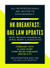 HR Breakfast: UAE Labour Law 2020
